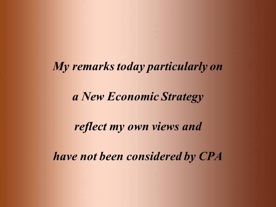 What is economic growth? GDP = C + I + G + NE