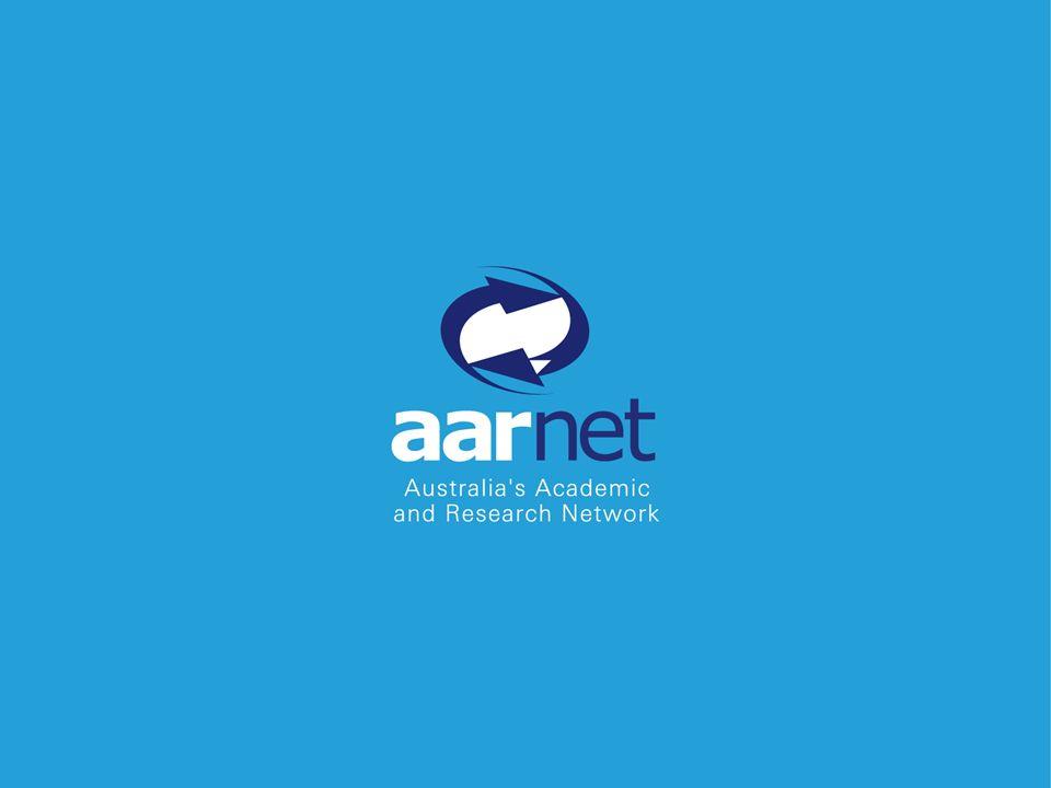 © Copyright AARNet Pty Ltd www.aarnet.edu.au