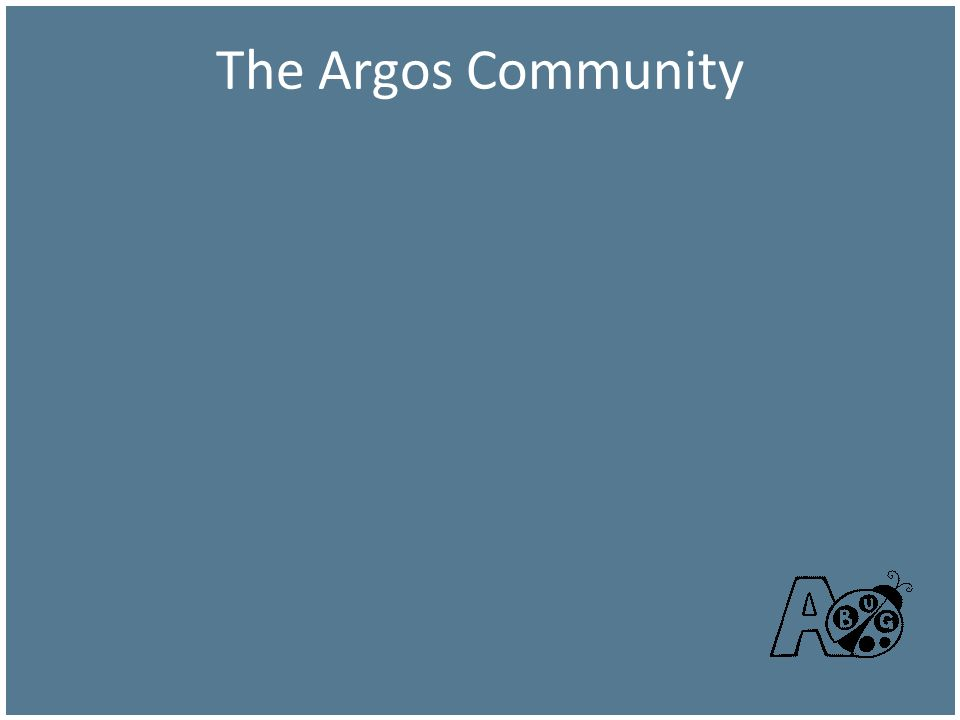 The Argos Community