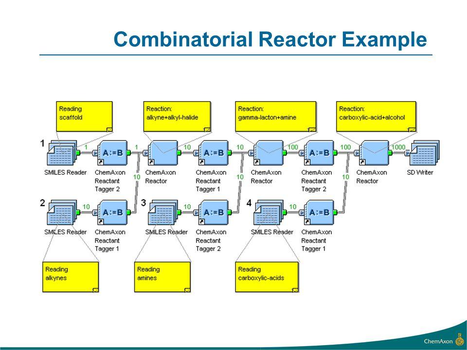 Combinatorial Reactor Example