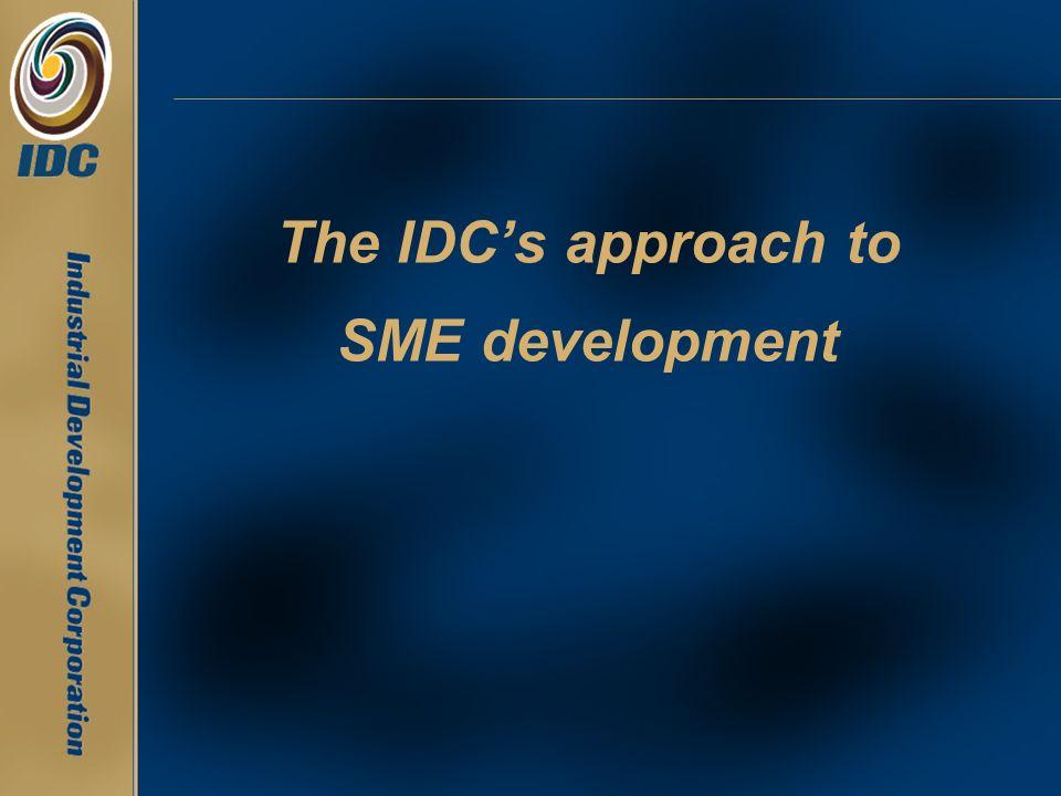 The IDCs approach to SME development