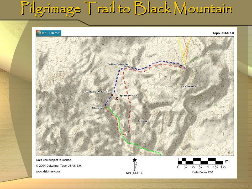 15 Pilgrimage Trail to Black Mountain