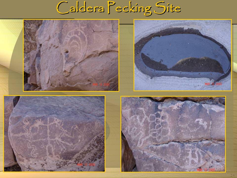 24 Caldera Pecking Site