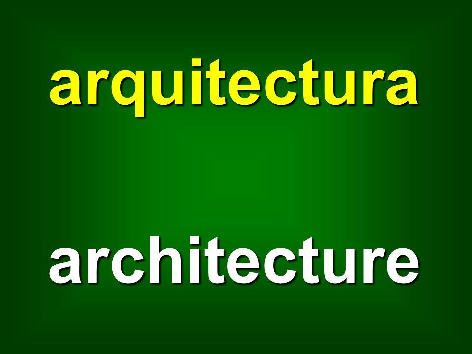 arquitectura architecture