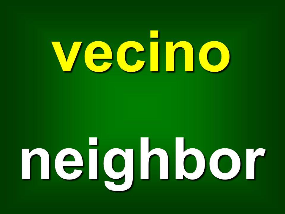 vecino neighbor
