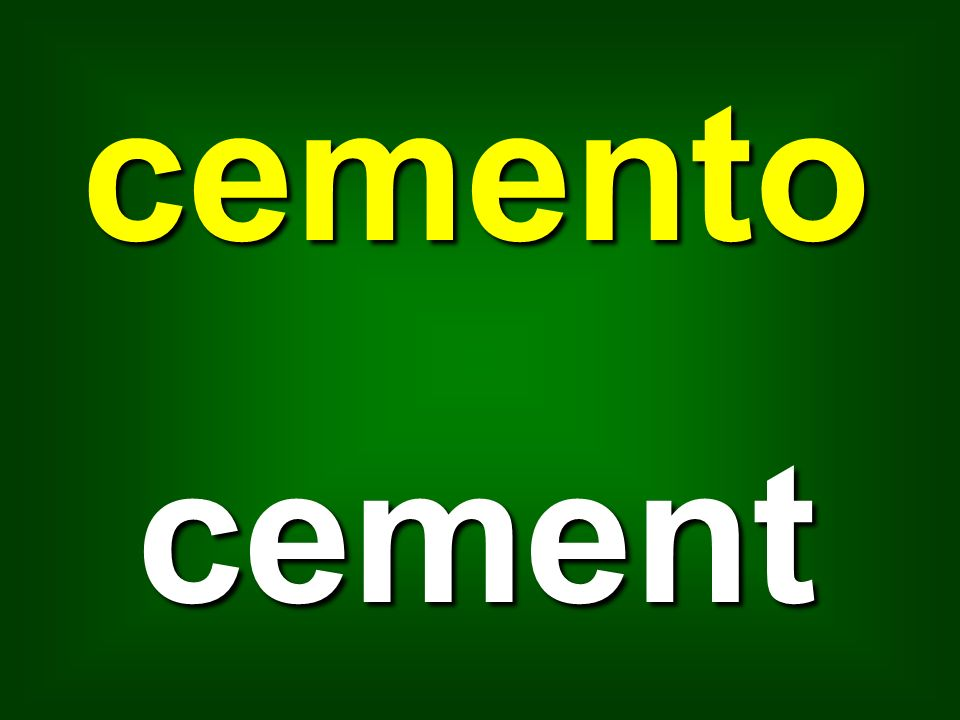 cemento cement