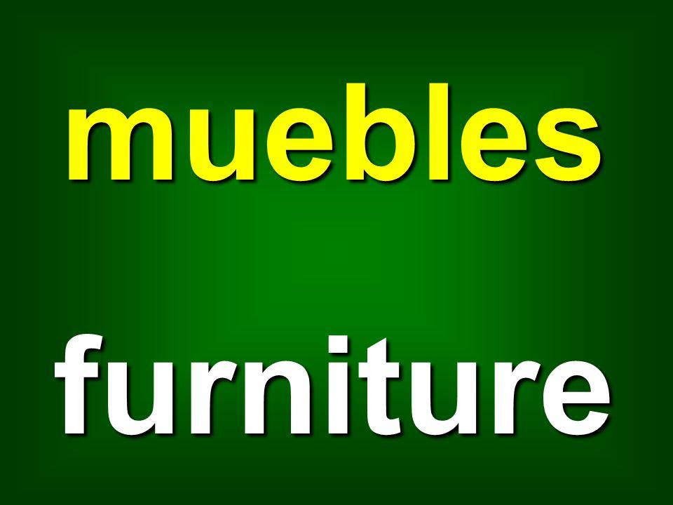 muebles furniture