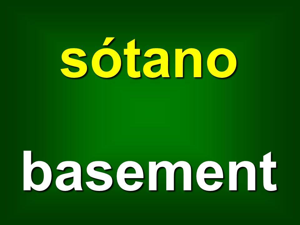 sótano basement