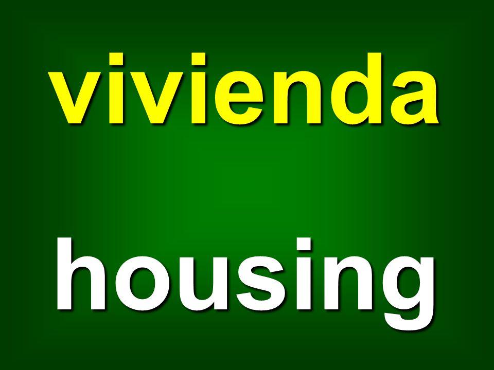 vivienda housing