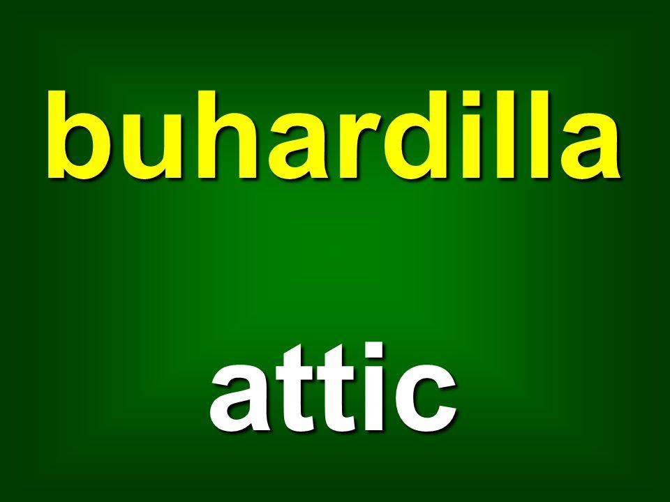 buhardilla attic
