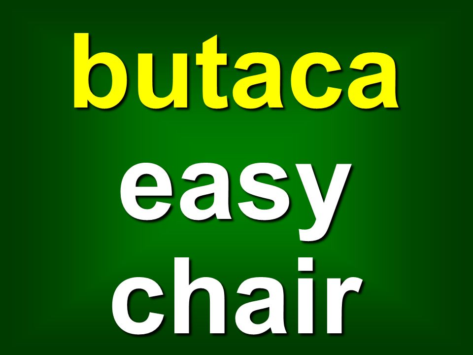 butaca easy chair