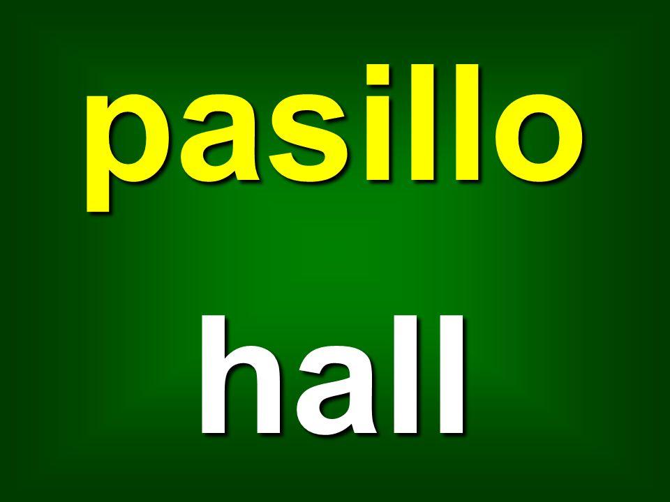 pasillo hall