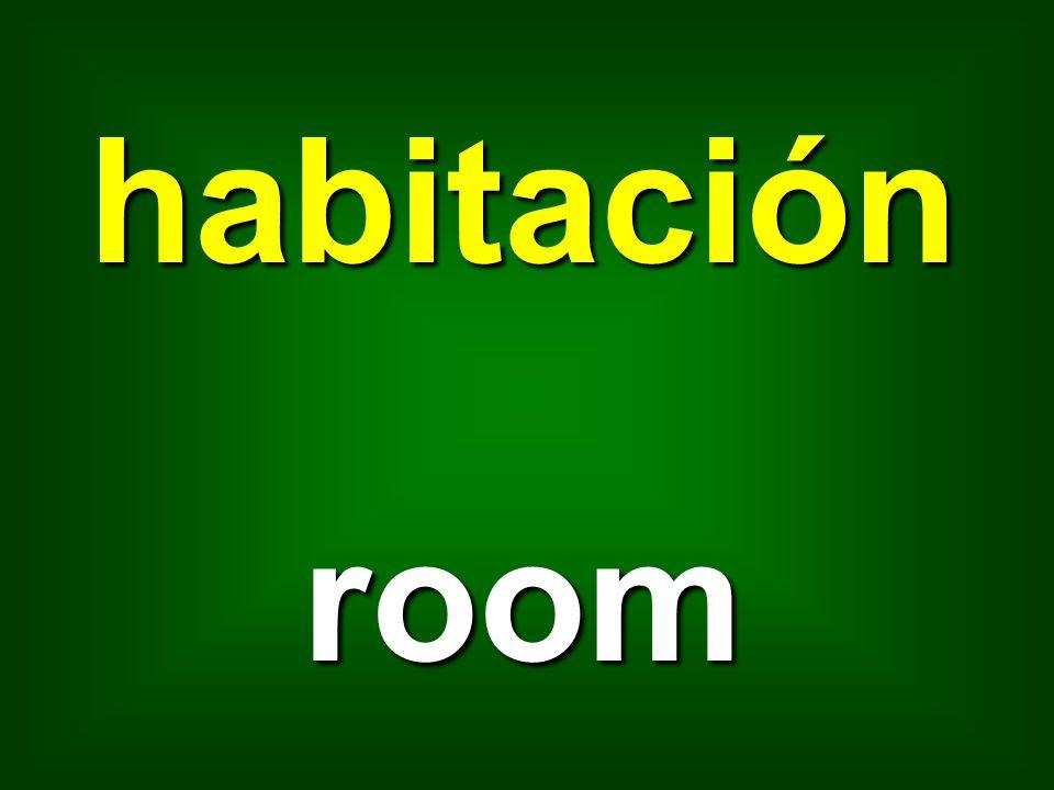 habitación room