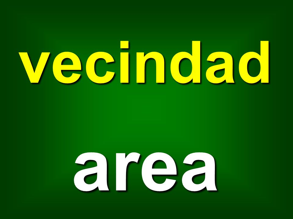 vecindad area