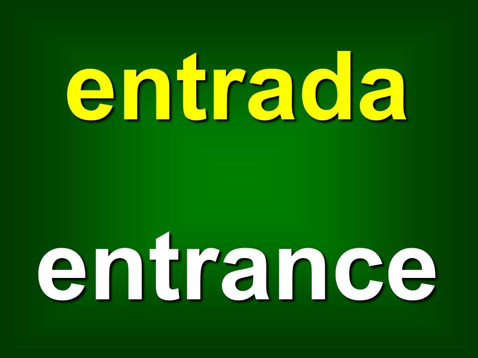 entrada entrance