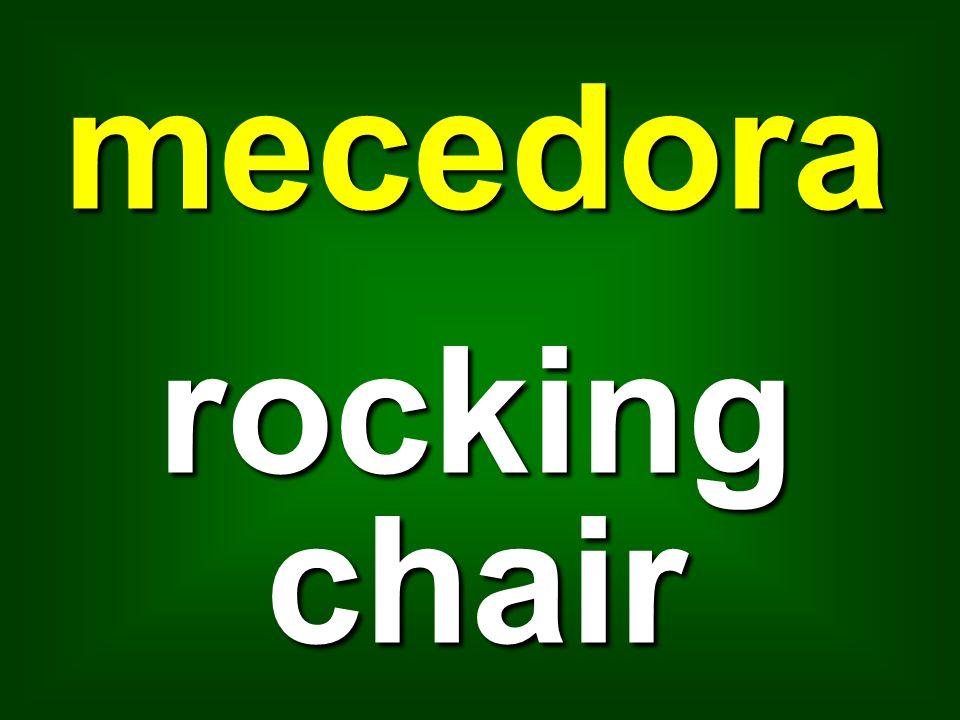 mecedora rocking chair