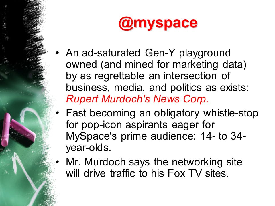 MySpace.com has jumped from zero to more than 50 million users in just two years. Too much information could allow Internet predators to find you, sta