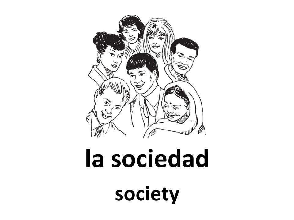 la sociedad society