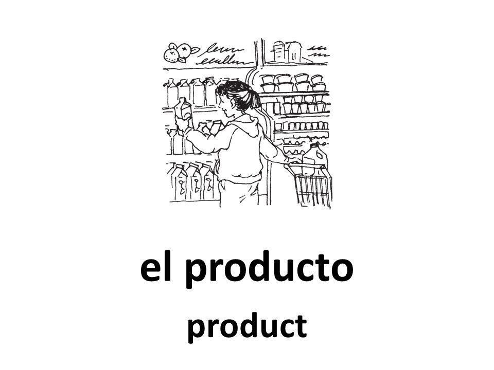 el producto product