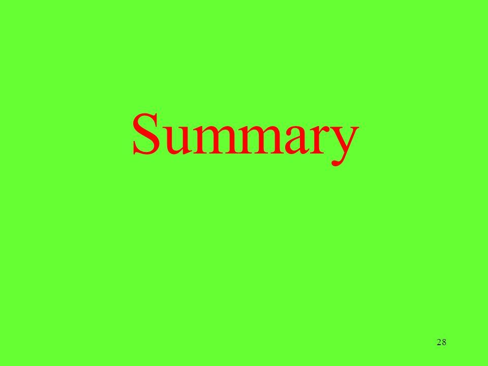 28 Summary