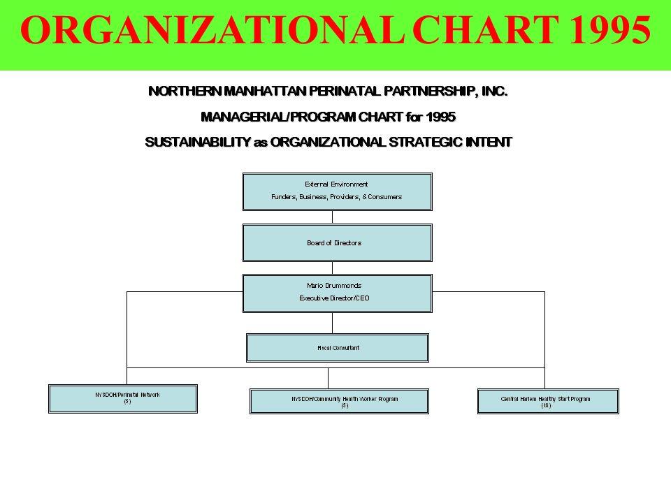 37 ORGANIZATIONAL CHART 1995
