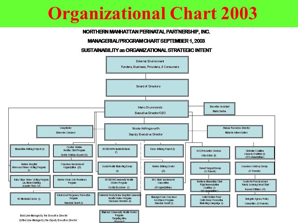 38 Organizational Chart 2003