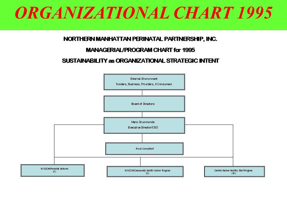 4 ORGANIZATIONAL CHART 1995
