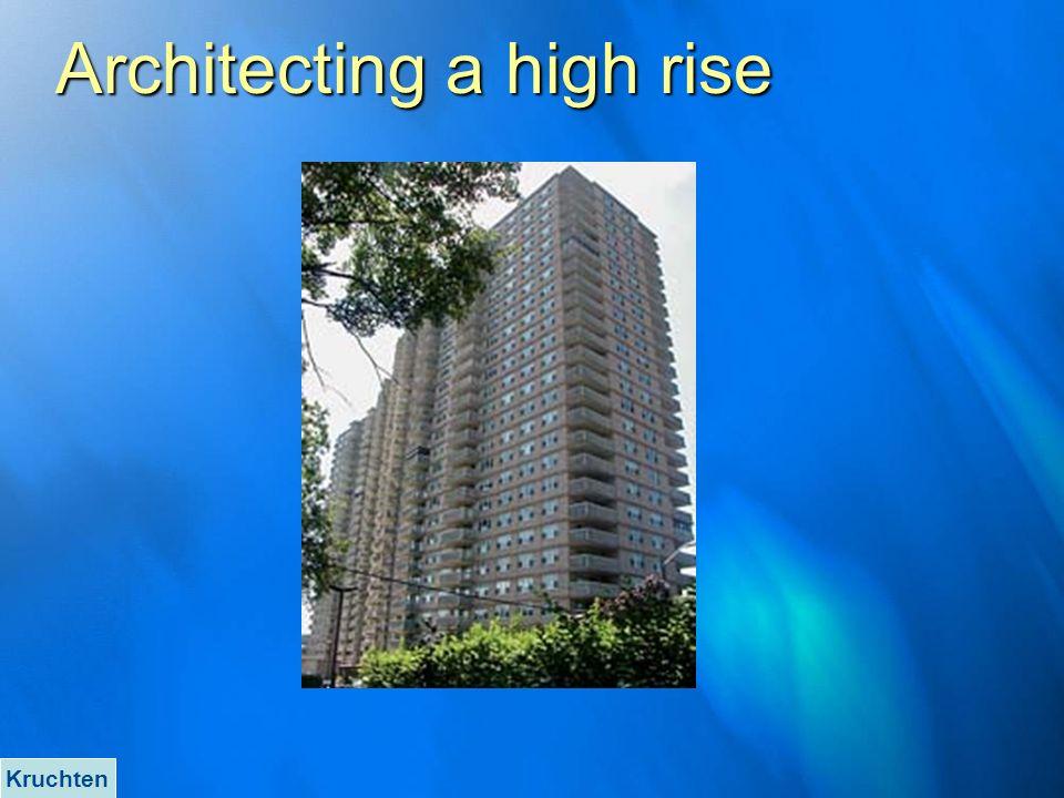 Architecting a high rise Kruchten