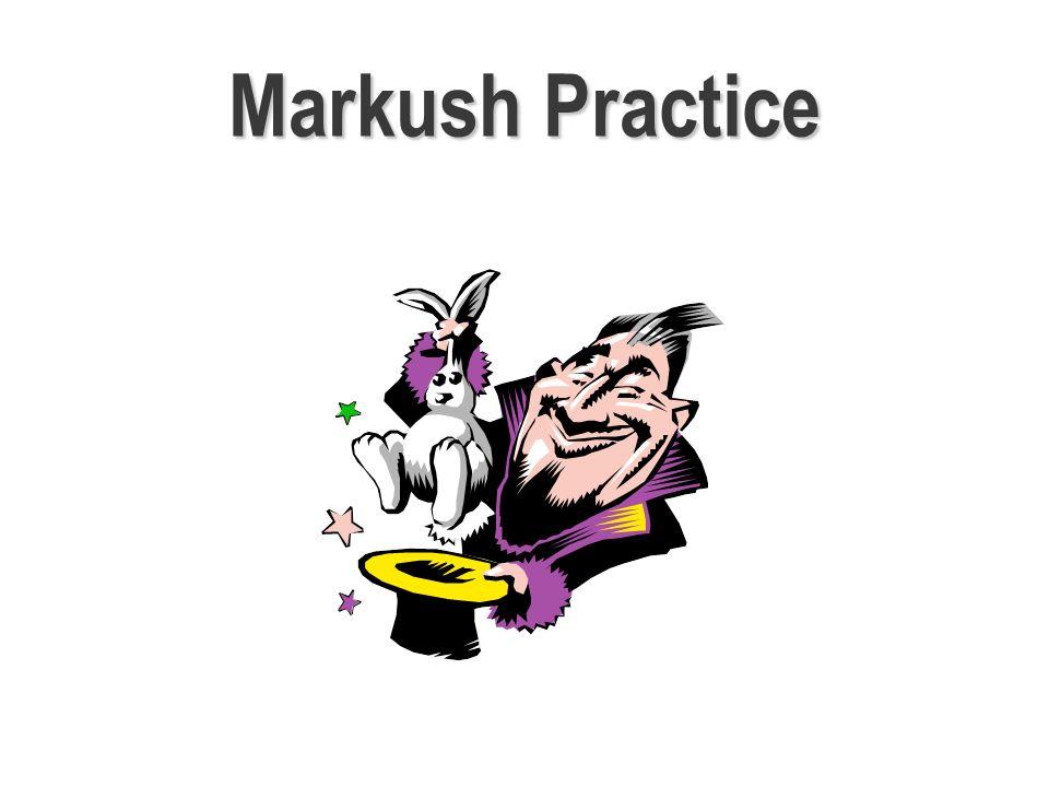 Markush Practice