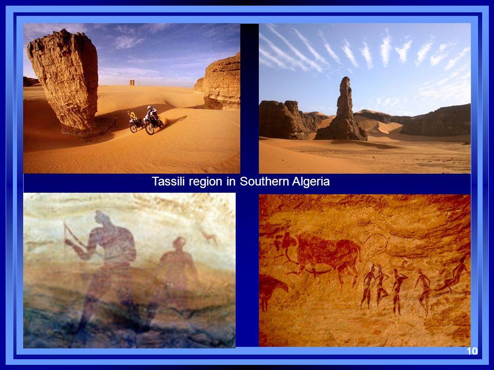 10 Tassili region in Southern Algeria 10