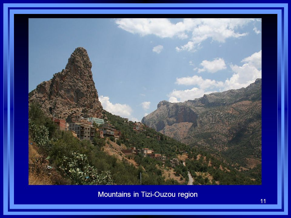 11 Mountains in Tizi-Ouzou region