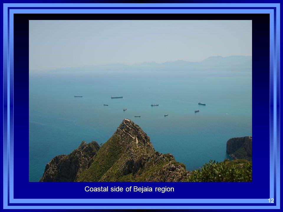 12 Coastal side of Bejaia region