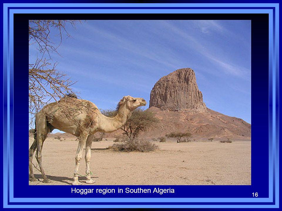 16 Hoggar region in Southen Algeria