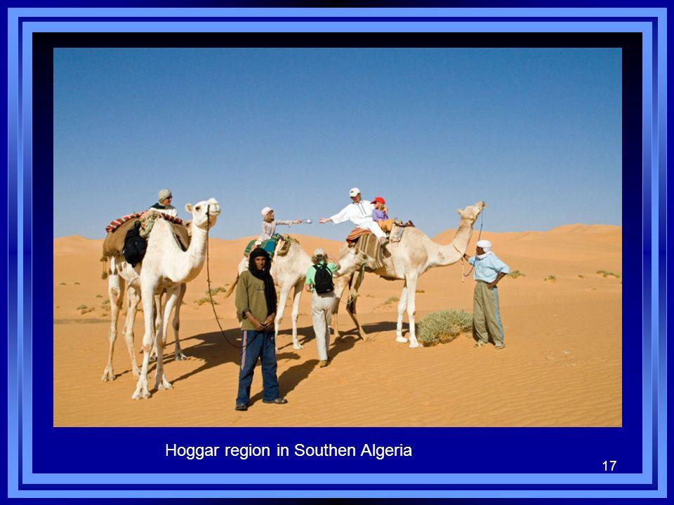 17 Hoggar region in Southen Algeria