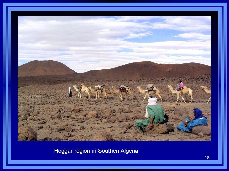18 Hoggar region in Southen Algeria