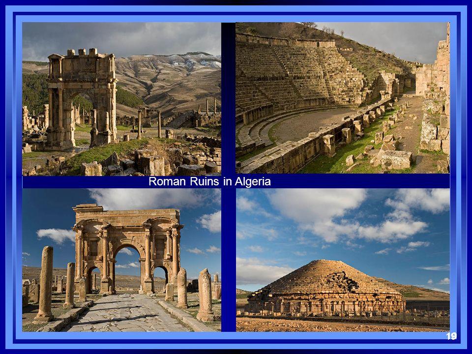 19 Roman Ruins in Algeria 19