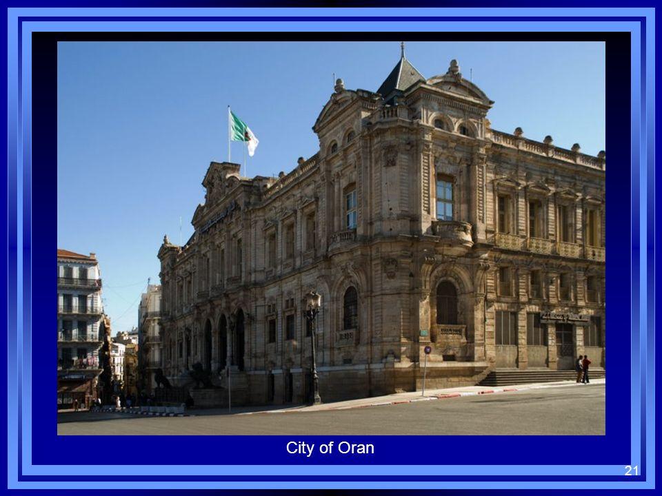 21 City of Oran