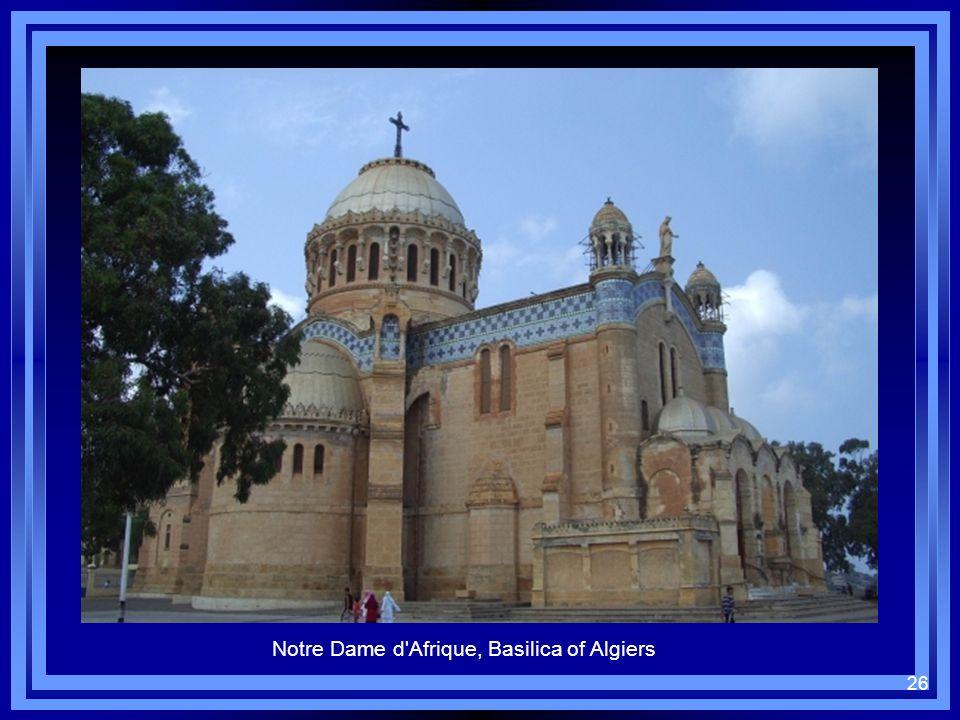26 Notre Dame d'Afrique, Basilica of Algiers