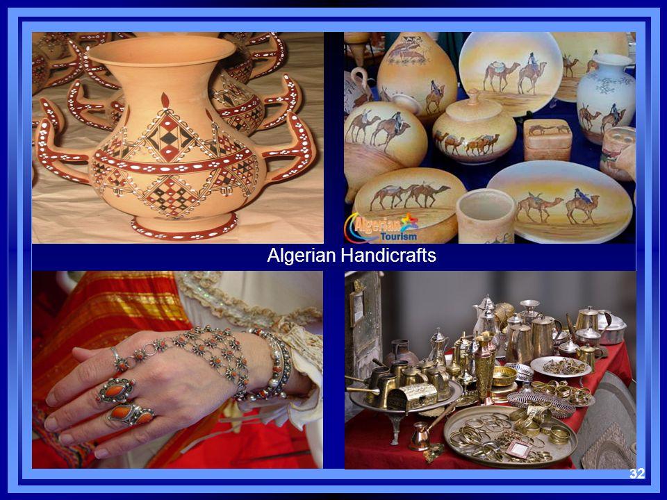 32 Algerian Handicrafts 32