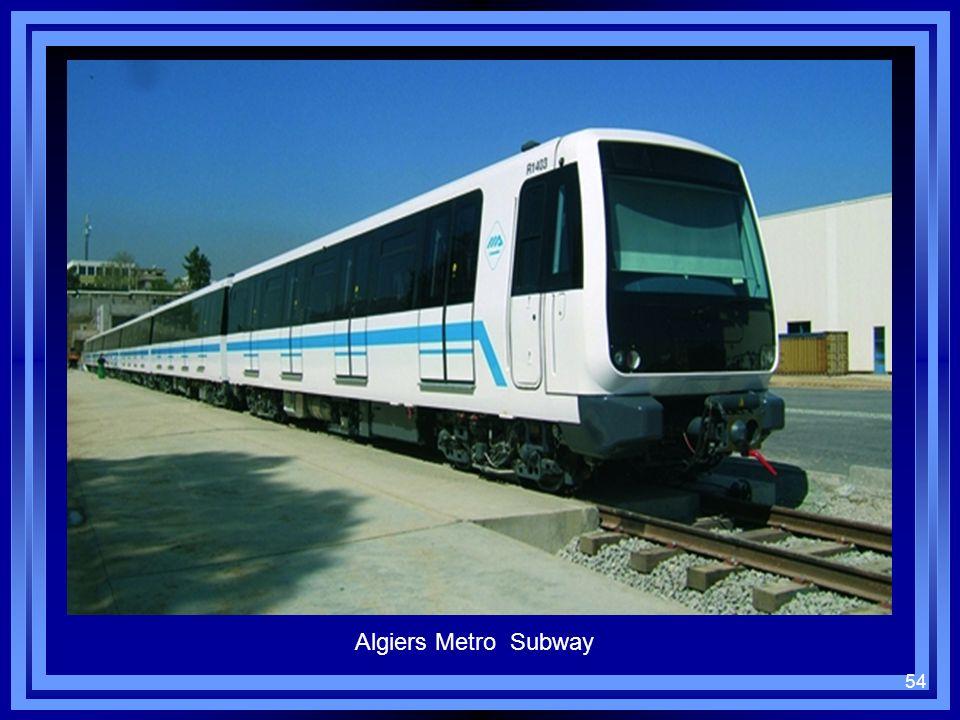 54 Algiers Metro Subway