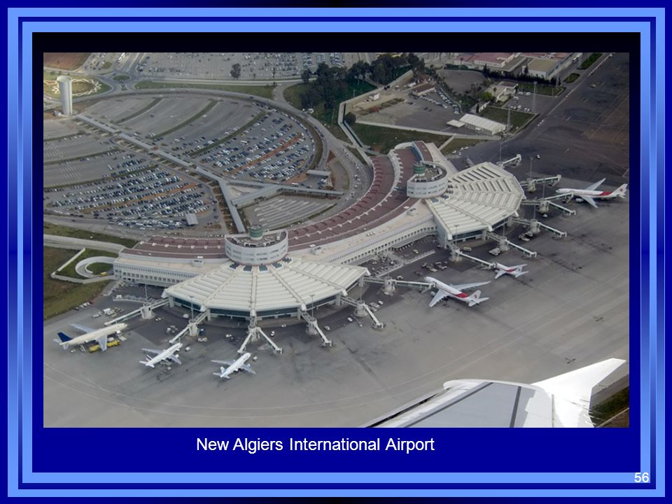 56 New Algiers International Airport