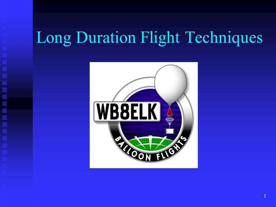 1 Long Duration Flight Techniques