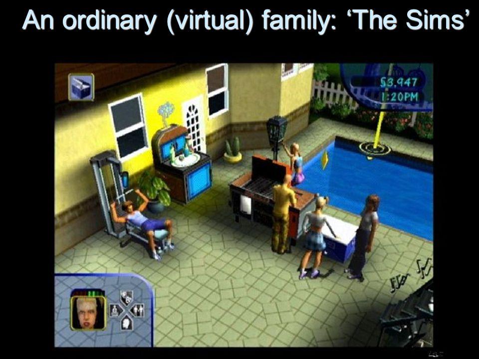 An ordinary (virtual) family: The Sims