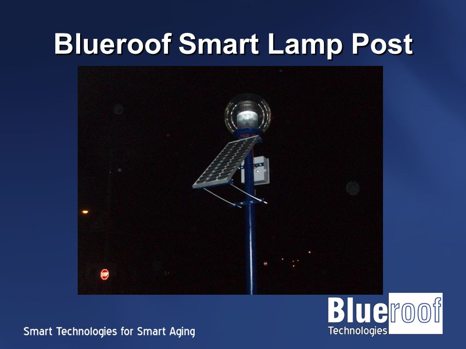 Blueroof Smart Lamp Post