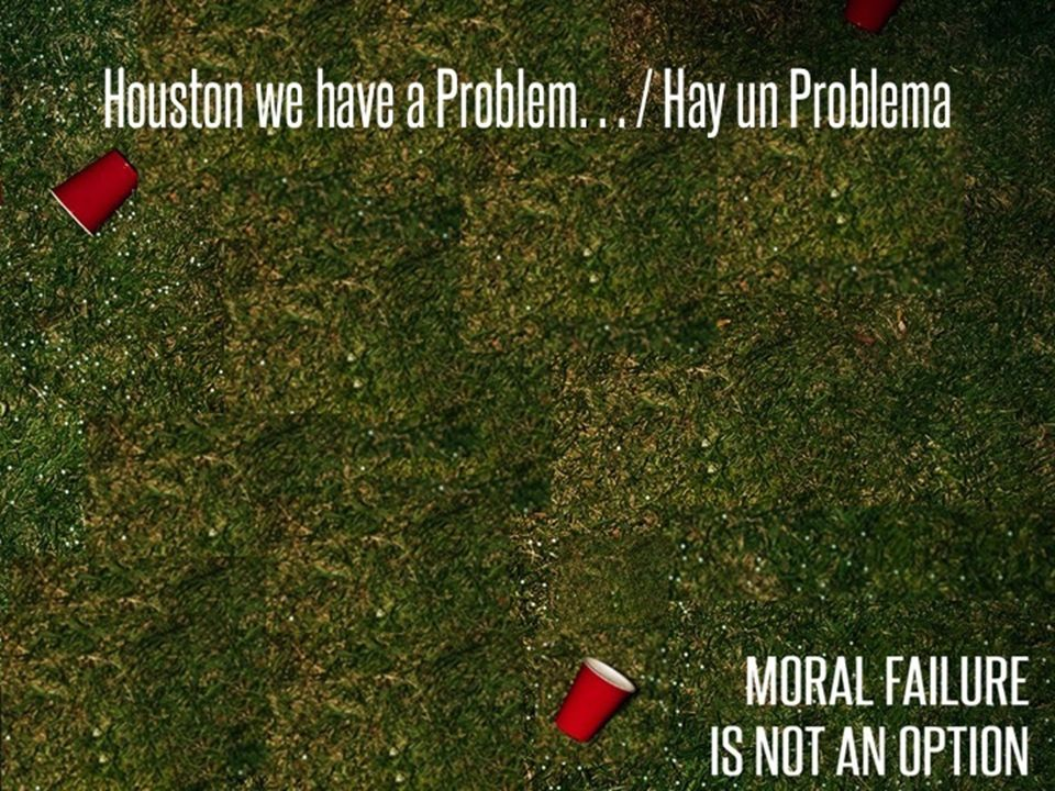 Houston we have a Problem… / Hay un Problema