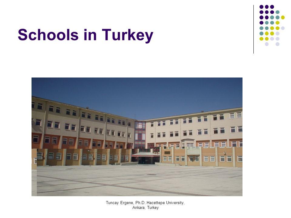 Tuncay Ergene, Ph.D. Hacettepe University, Ankara, Turkey Schools in Turkey