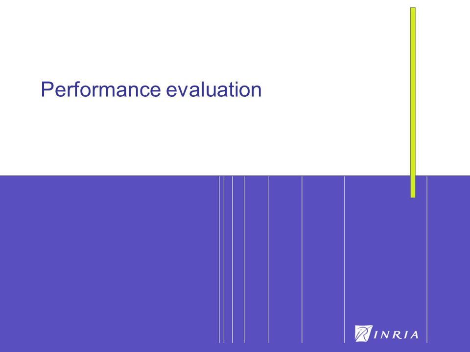 17 Performance evaluation