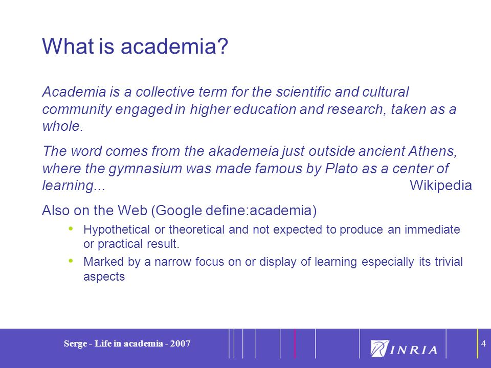 15 Serge - Life in academia - 200715 Warning: You came too late The time of these gatherings is counted because of their ecologically disastrous effect Thank you for attending the first virtual SIGMOD