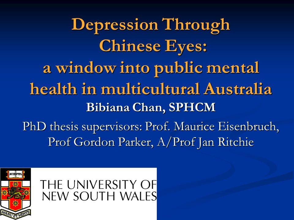 Roadmap of presentation Why study depression.Why study depression.