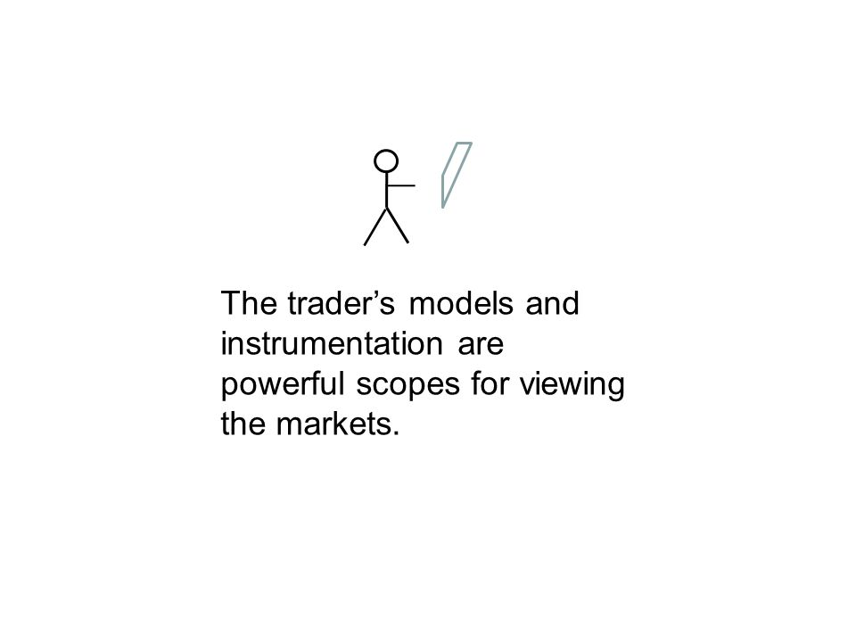 The traders models and instrumentation are powerful scopes for viewing the markets.